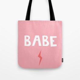 Babe Lightning Tote Bag