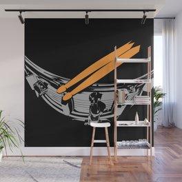 Drummer | Feel The Rhythm Wall Mural