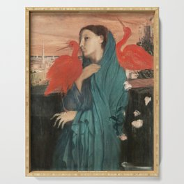 Edgar Degas Young Woman With Ibis Serving Tray