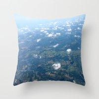 arizona Throw Pillows featuring Arizona by Lexi Spinelle