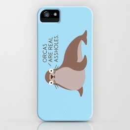 Seal of Reproval iPhone Case