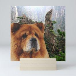 Dog Chow Chow Mini Art Print