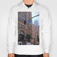 broadway Hoodies featuring Off Broadway by Jacqueline Obispo