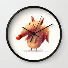 Monday fox Wall Clock