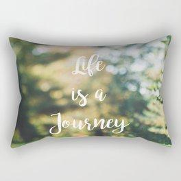 Life is a Journey Rectangular Pillow