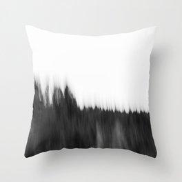 Zeitgefluester NO2 Throw Pillow