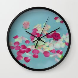Bed of Roses Wall Clock