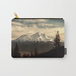 Mount Shasta Waking Up Carry-All Pouch