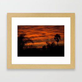 Smog Can Be Pretty Framed Art Print