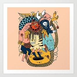 Reaper Pit Art Print