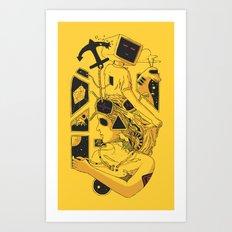 In Too Deep Art Print