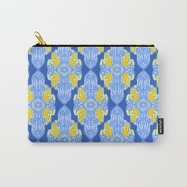 Patterns: Yellow Sages Carry-All Pouch