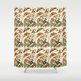 Insect Life Shower Curtain