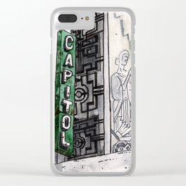 Philippines : Capitol Theater Clear iPhone Case
