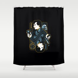The Detective of 221B Shower Curtain