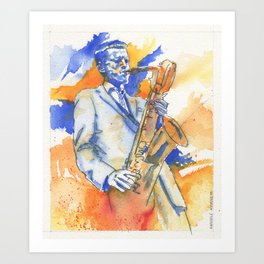 G Mulligan Art Print
