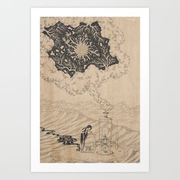 Creator Is Nobody : The Lab Art Print
