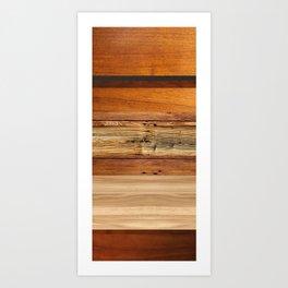 Woodboard 2 Art Print