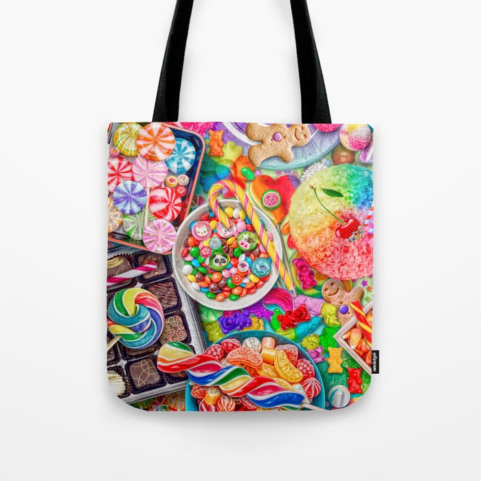 Candylicious Tote Bag