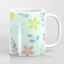 Flower Pattern VI Coffee Mug