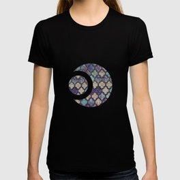Moroccan Tile Design In Retro Colors T-shirt
