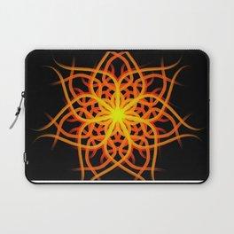 Mandala 1 - Sunrise Flower Laptop Sleeve