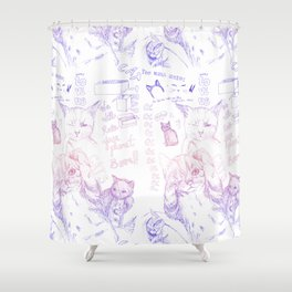 PRRRR Shower Curtain