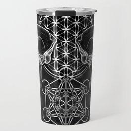 Sacred Skull Travel Mug