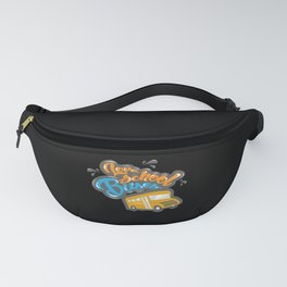 Love School Buses - Gift Fanny Pack