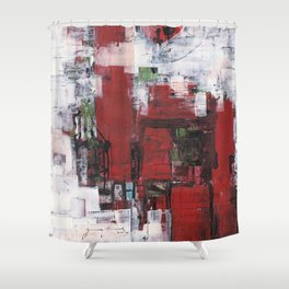 Abstract 2014/11/08 Shower Curtain