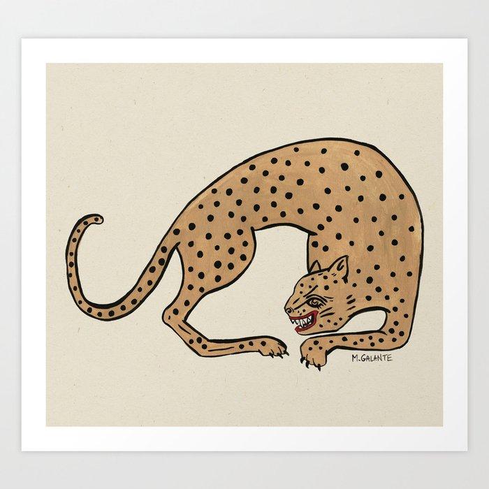 Cheetah Kunstdrucke