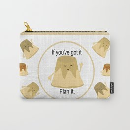 Flan it Carry-All Pouch