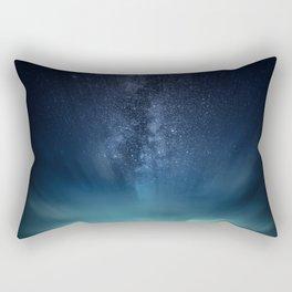 Space Dock Rectangular Pillow