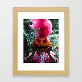 Holiday Hot Head :D Framed Art Print