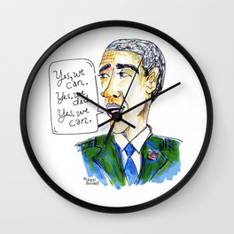 Barack Obama. Yes, We Can. Yes, We Did. Yes, We Can. Wall Clock