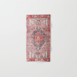 N62 - Vintage Farmhouse Rustic Traditional Moroccan Style Artwork Hand & Bath Towel