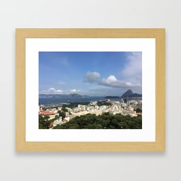 Rio and beyond Framed Art Print