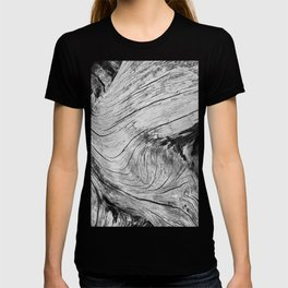 Twisted Driftwood Textures 90 T-shirt