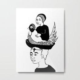 Holy Humans III Metal Print