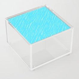 19 Blue Scratch Acrylic Box