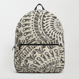 mandala4w Watercolor Mandala Backpack