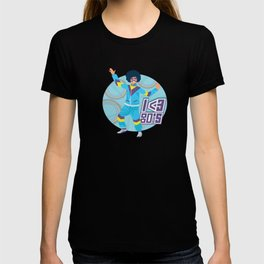 I Love 80s Eighties Fancy Dress Theme Party Gift T-shirt