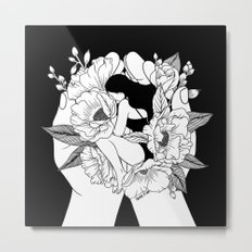 Natural Woman Metal Print