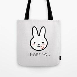 I Noff You Tote Bag