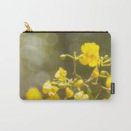 Popcorn Flower Bokeh Delight Carry-All Pouch