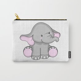 Pretty Pachyderm Carry-All Pouch