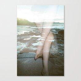 Tidepools // Legs Canvas Print