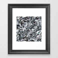 Rock Swirls Framed Art Print