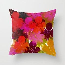 Flowers 594 Throw Pillow