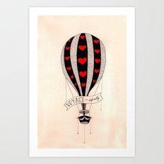 Voyage to Infinity Art Print